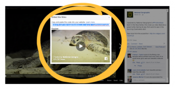 Videos posted to Facebook can now easily be embedded onto other websites, Facebook announced at its annual F8 conference last week in San Francisco. This new ability could offer an […]