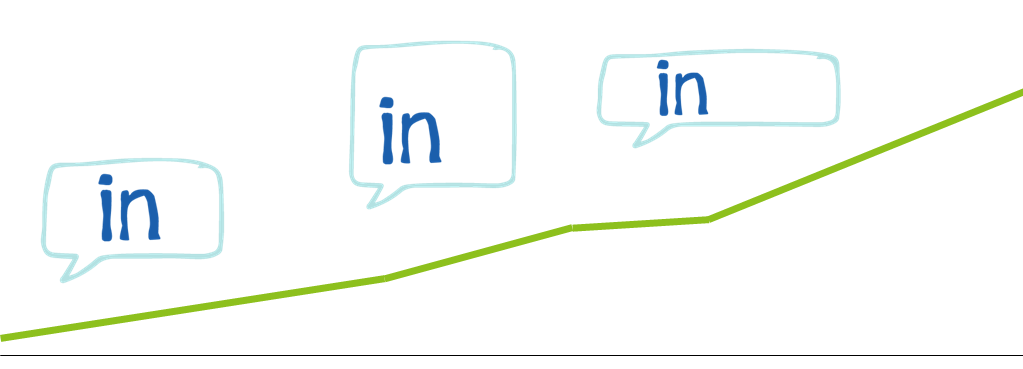 LinkedIn traffic growth