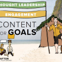 Businesses that want to be successful with web marketing need to engage their audience and build thought leadership.