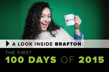 "It's been a busy year at Brafton so far. We've been online and on the road in equal measure, delivering results to our clients through best-in-class content marketing. We've been...  <a class=""excerpt-read-more"" href=""http://www.brafton.com/blog/content-marketing/look-inside-brafton-first-100-days-2015/"" title=""Read A look inside Brafton: The first 100 Days of 2015"">Read more »</a>"