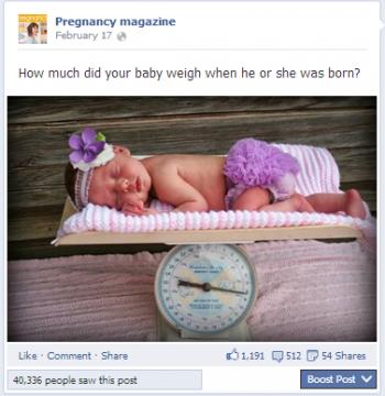 pregnancy magazine facebook