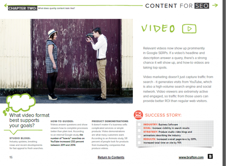 Content for SEO Ebook Preview 2