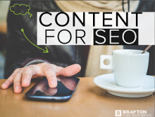 Click to download free ebook: Content for SEO