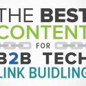 link building b2b tech brafton study