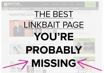 Did you know hubpages like blog archives and resource centers actually get more earned links than individual posts?