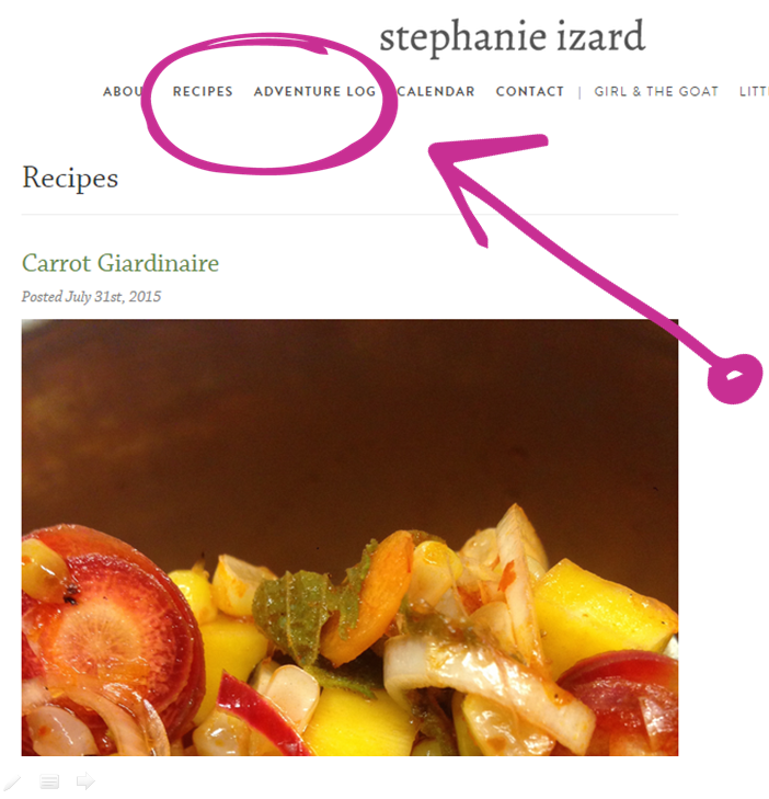 Stephanie Izard Content marketing
