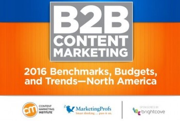Here are quick, actionable highlights from the 2016 marketing trends outlined in Content Marketing Institute's newly published State of B2B Content.