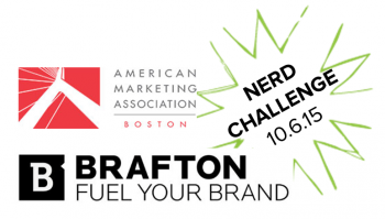 Brafton is teaming up with American Marketing Association's Boston chapter on Oct. 8 to host a marketing event in Microsoft's NERD center in Cambridge.