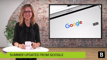 Here's a video highlight of the hottest SEO updates of summer. But the real sizzler might be this: Marketers seem to care less about SEO.
