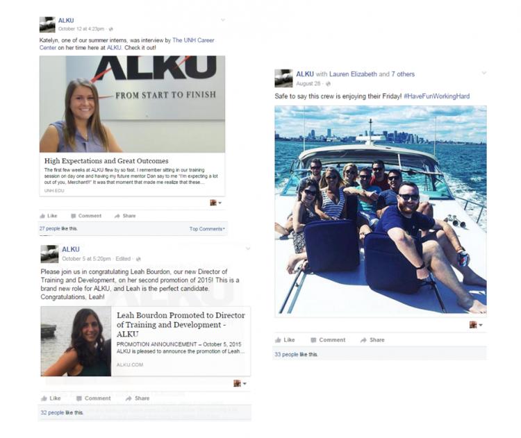 ALKU on Facebook