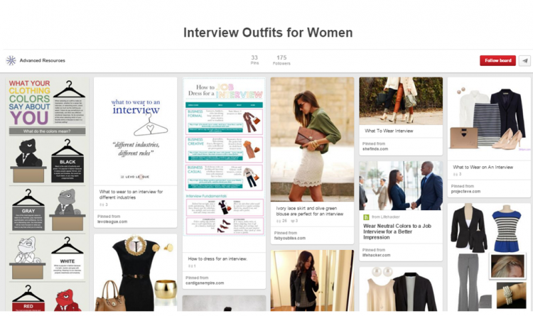 Interview Outfits pinterest