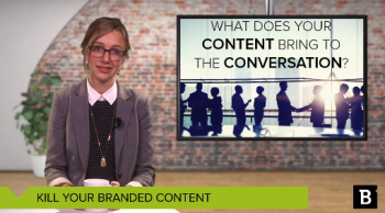 "What is ""branded content"" and why aren't both B2C and B2B marketers having success with this content format? Insights and advice from CMI's latest research."
