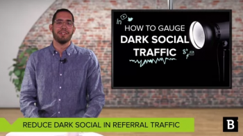 "Did you know estimates  peg 70% of social shares today as ""dark social""? Here's a Google Analytics workaround."