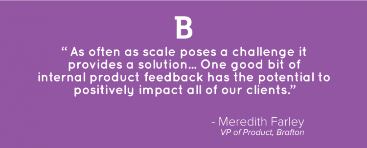 Brafton VP of Product Quote 3
