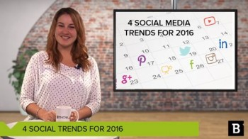 Pinterest's new visual search, live interactions, and more: We're recapping some of the biggest social media marketing trends for 2016 in this week's Content and Coffee video.