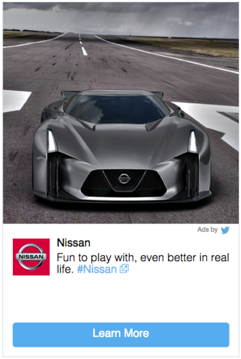 An example of Twitter's embedded promoted posts on affiliate sites, like Flipboard and Yahoo.
