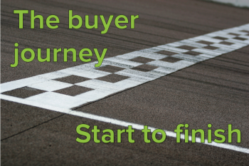 When you map out the buyer journey, you can more accurately cater to your target audience's needs and be there to help them find what they're looking for.