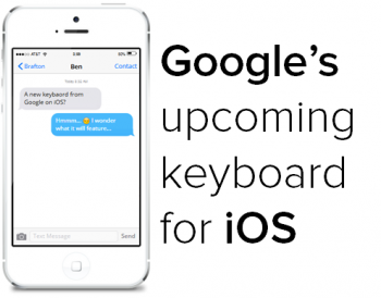Google is testing their new keyboard, which could soon be available for iOS. Here's why Google is hoping for iPhone users to adopt it.