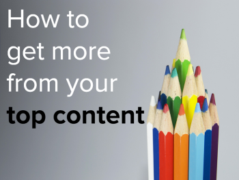 Has your well of content ideas started to run dry? There's a solution lurking in your blog archives: your own content.