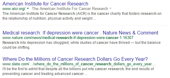 Googling complex issues can bring up in-depth articles at the bottom of the SERP.