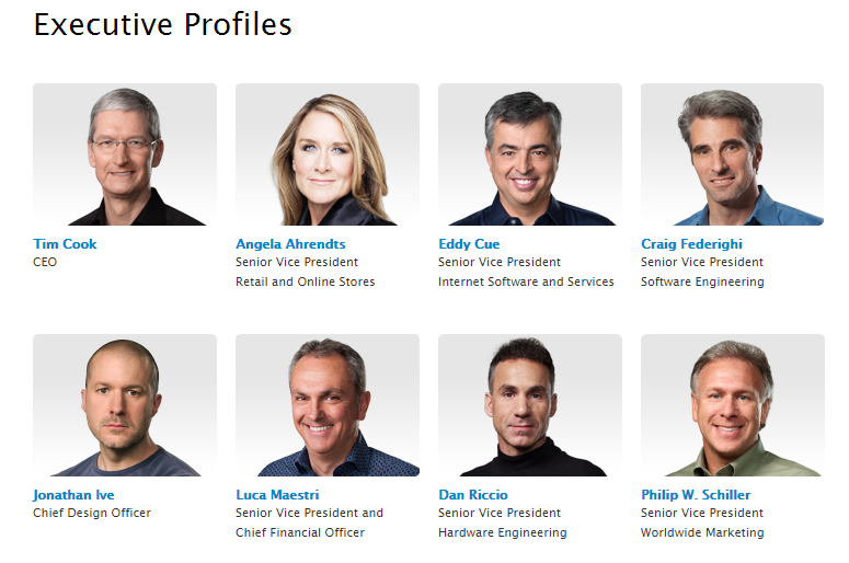 Apple picked a clean, professional style to embody their values and corporate presence.