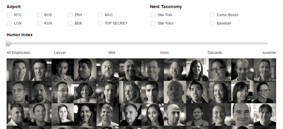 Kayak's old employee directory was fun and sleek, and it's sorely missed.
