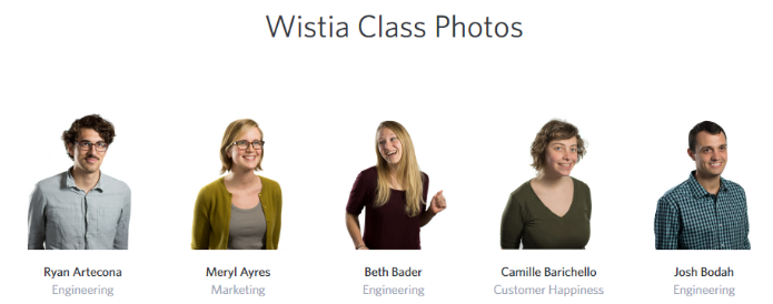Simple at first glance. Wistia's Yearbook hold hidden value in interactive surprises.