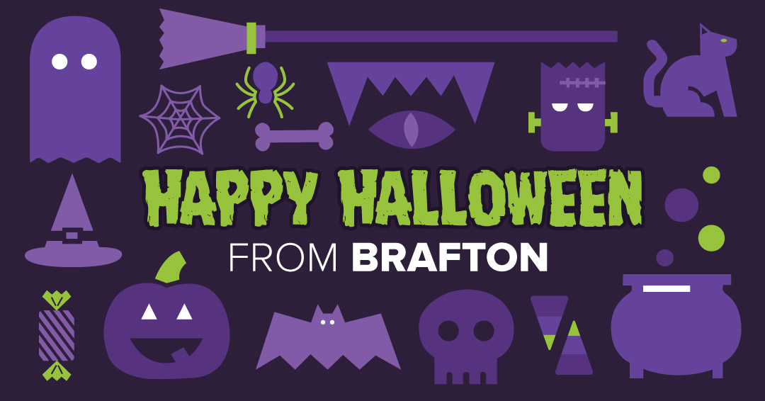 Happy Halloween from the Brafton crew.