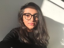 Senior Graphic Designer Maysoon Shafi reveals her design process, how she handles a challenge and the best way to find success with graphics.