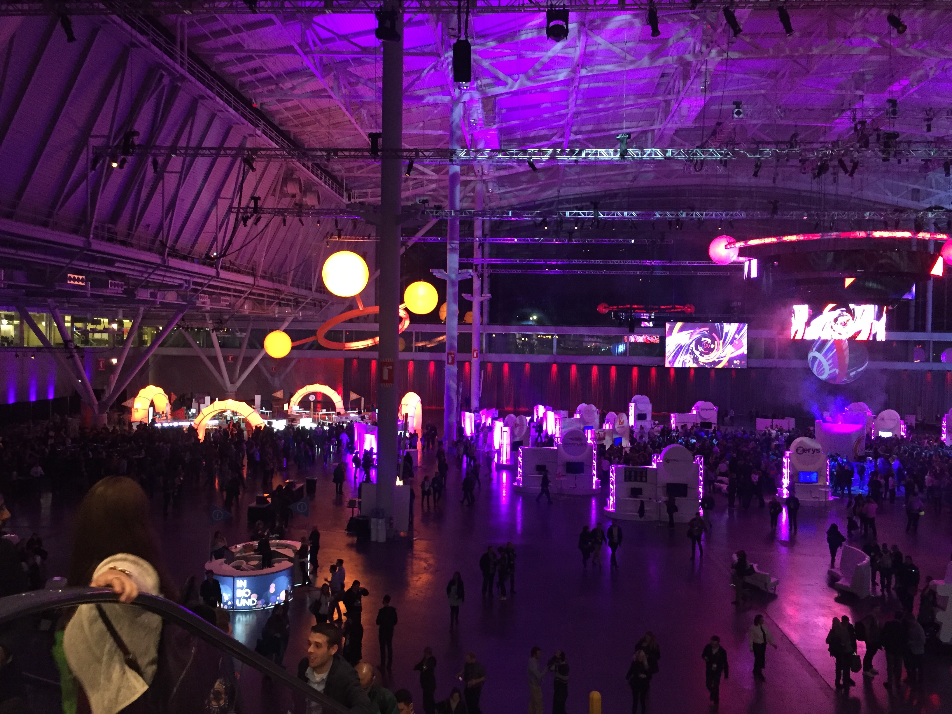 HubSpot's INBOUND marketing conference included a sleek tradeshow floor that definitely set itself apart from standard expos.