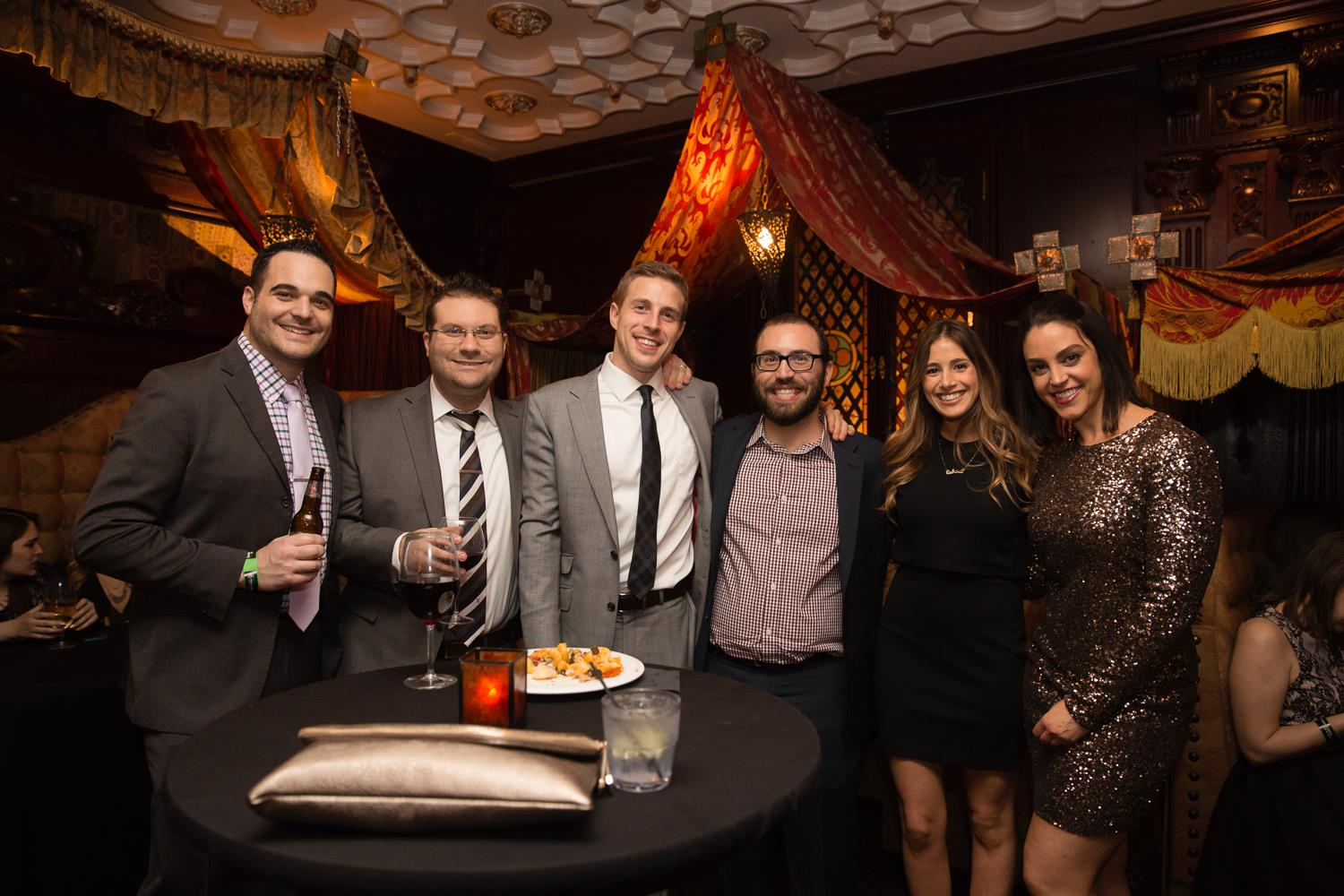 Third from left, Andrew takes a break from perfecting client SEO to enjoy some good times with his colleagues.