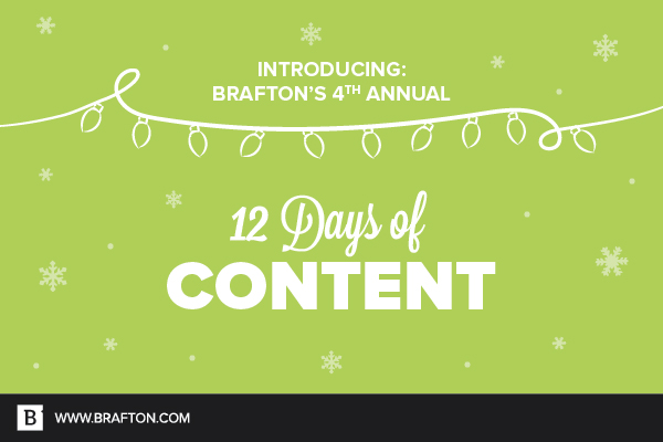 12 Days of Content 2017