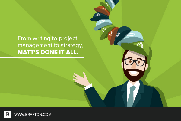 Matt Kaplan has worn many hats in the content marketing game.