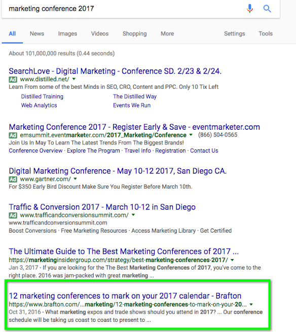 Search Console lets you see exactly which queries an article ranked for.