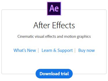 Adobe After Effects video marketing tool
