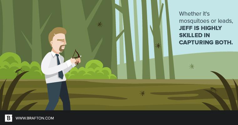 Jeff Baker mosquito hunter