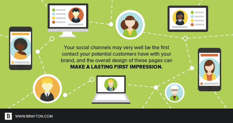 Designing your social profile