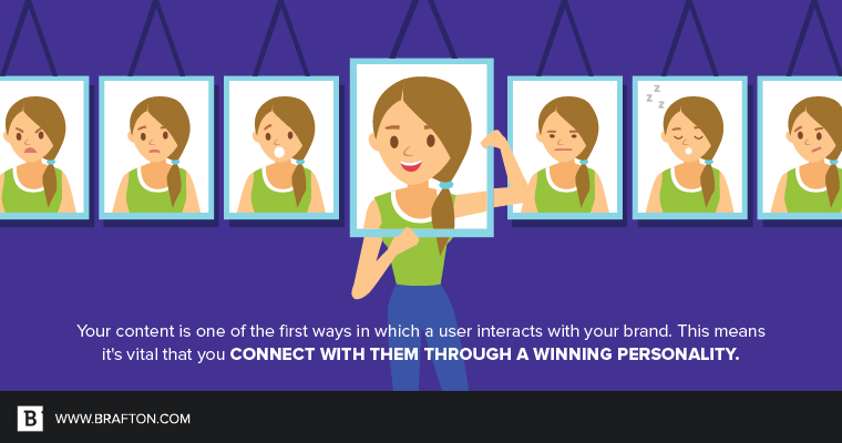 A winning personality: How to make your content shine