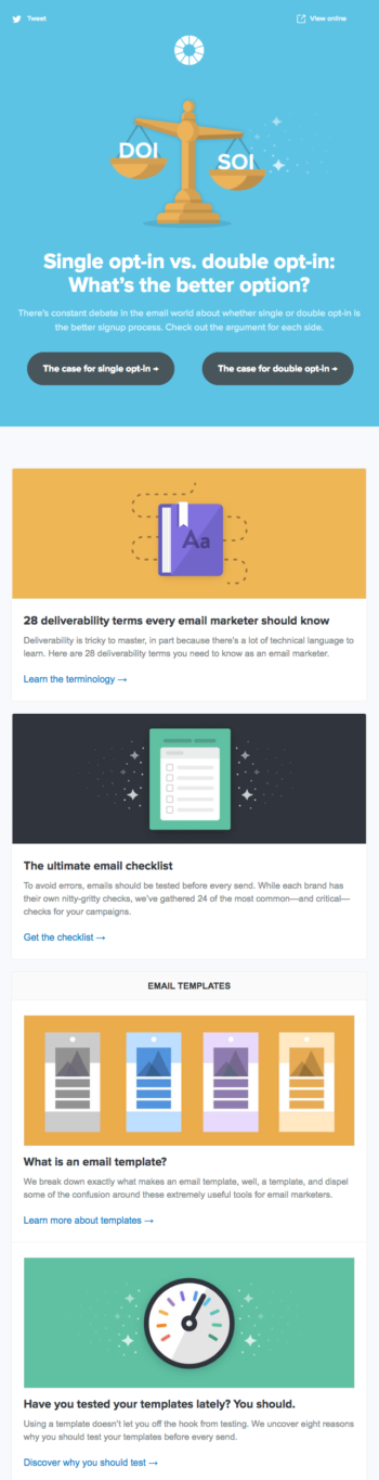 Top 8 best company newsletters of 2018 brafton email marketing solutions provider litmus hits the mark in this regard sharing with readers their thoughts on email design best practices spiritdancerdesigns Gallery