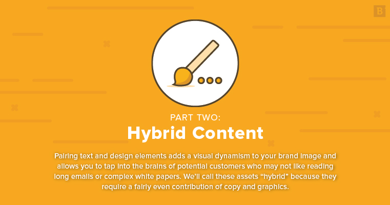 marketing collateral ideas: hybrid content