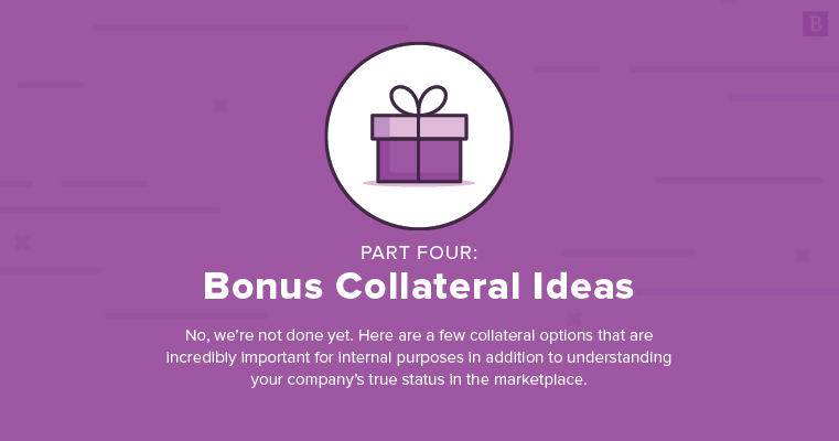 marketing collateral ideas: bonus ideas