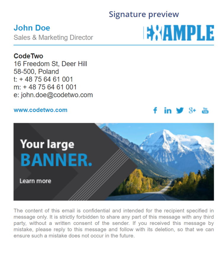 Best Email Signatures Examples For Students | esmm info