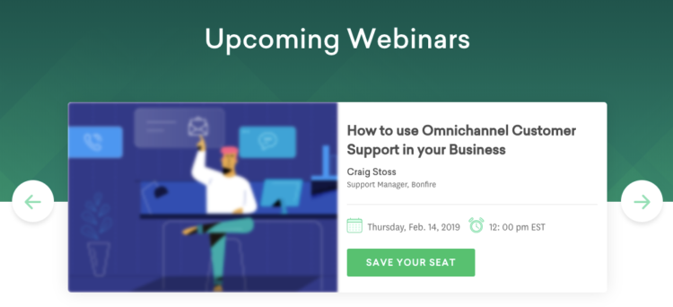 upcoming webinars - Venngage guest blog: How to Scale Content Marketing Using Visuals | brafton
