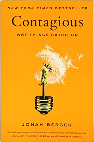 books every marketer should read: contagious why things catch on