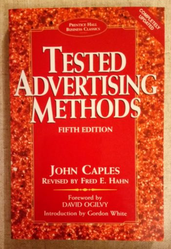 Books every marketer should read: Tested Advertising Methods