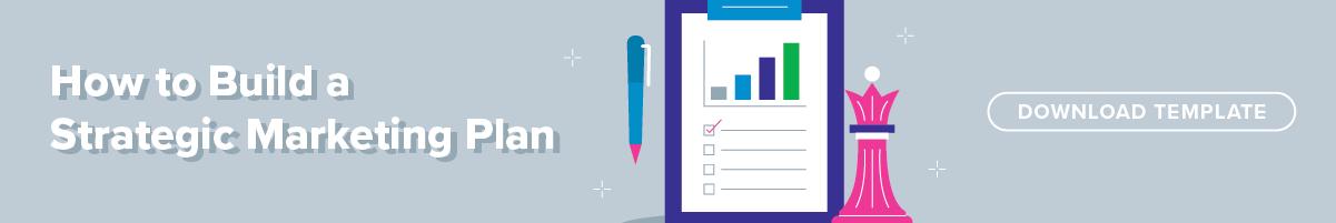 Strategic marketing plan template