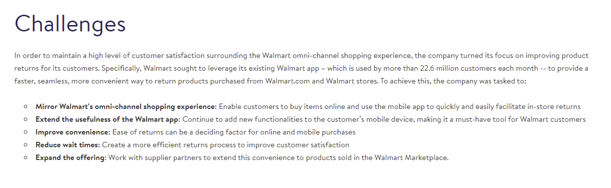 Wal-Mart case study example