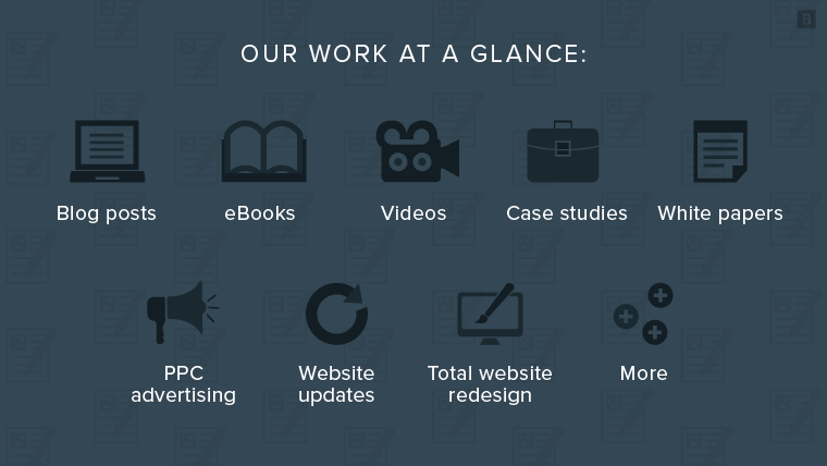Our work at a glance